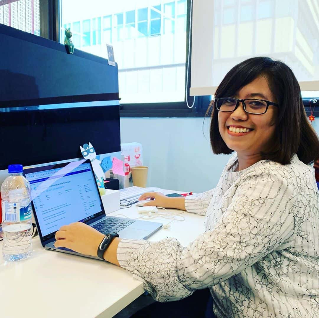 Say hello to Rina, our Assoc. Art Director based in Kuala Lumpur currently in Singapore on a Creativ...